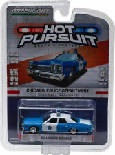 `74 Dodge Monaco  Chicago IL  POLICE Department 1974 *Greenlight 1:64 OVP