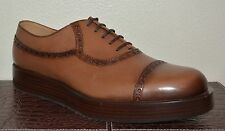 NIB GUCCI $820 LEATHER BETIS BROGUE OXFORD SHOES SZ US 10.5 EU 43.5 ITALY