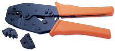Interchangeable Insulated & Non Insulated Ratcheting Crimping Pliers PVC Handles