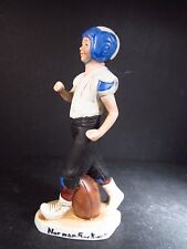 """1980 Select Collection #1004 Norman Rockwell  THE FOOTBALL PLAYER 7"""""""