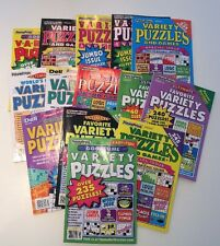 Lot of 5 Penny Press Variety Puzzle Books DELL **FAST SHIPPING*