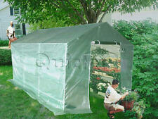Peaktop® Greenhouse 12'x7'x7'High Quality Large Green Garden Hot House