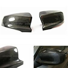 Pair of 2007-2013 BMW X5M X6M E70 E71 Real Carbon Fiber Mirror Covers New