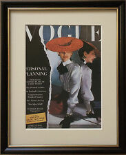 Vogue wall art -8''x10'', Framed Vogue cover, vintage Vogue Covers