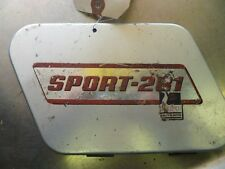 Z600 RUPP SPORT 281 SIDE COVER VINTAGE SNOWMOBILE ANTIQUE