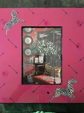 Scalamandre by Lenox Zebra Lacquer Picture 5 x 7 Frame ( $80)