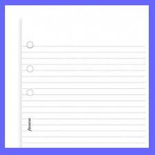 Filofax Pocket Size White Ruled Lined Note Paper Refill Insert 213008