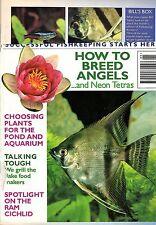Fishkeeping Answers Magazine May 1995 Breed Angels Neon Tetras Plants Aquarium