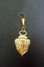 VINTAGE GUCCI FOB/ ZIPPER PULL/CHARM…GOLD TONE…..AUTHENTIC