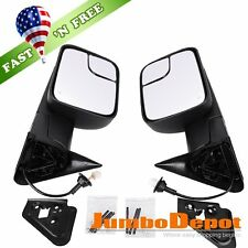 US Fit 98-01 Dodge Ram 1500/98-02 2500 3500 Power Heated Telescoping Tow Mirror