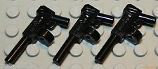 Lego 3x Black Tommy Gun  NEW!!!