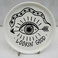Urban Outfitters Looking Good Ceramic Trinket Dish Coins Keys Spoon Jewellery