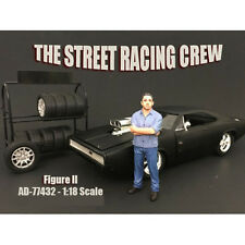 THE STREET RACING CREW FIGURE II 1:18 SCALE BY AMERICAN DIORAMA 77432