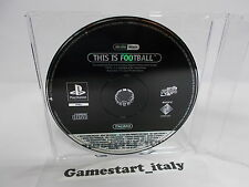 THIS IS FOOTBALL SCES-01703 (SONY PS1) PROMO VERSION - PAL VERSION
