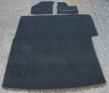 Car Mats in Black to fit VW Caddy Van (06 on) + Rear / Loading Area Mat