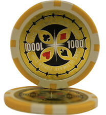 50pcs Ultimate Casino Laser Clay Poker Chips $1000