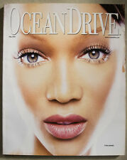 TYRA BANKS COVER Ocean Drive Magazine May 2002 South Beach Ron Galella!