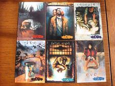 X-Files Trading Cards - Set of 6 - 1996 - Very Good condition