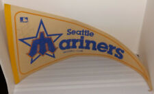 Signed DANNY MEYER Seattle Mariners Baseball Club Felt PENNANT (Daniel Thomas)
