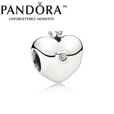 New Genuine Pandora Silver 2015 Club Heart Charm 791702D