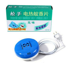 60 Pcs Electric Mosquito Repeller Mat Refill Smokeless+ Insect Skeeter Killer