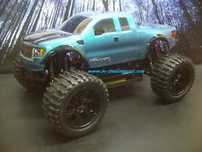 F150 SVT Raptor Custom Painted 4X4 Volcano EPX 1/10 RC Monster Truck Waterproof