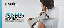 Homedics Shiatsu Deluxe Neck & Shoulder Massager with Heat NMS-620H-GB