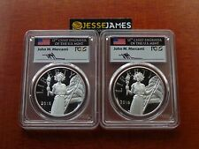 2016 W & S American Liberty Proof Silver Medal Pcgs Pr70 Mercanti First Strike