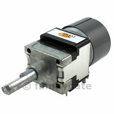 ALPS dual motorized rotary Potentiometer RK16812MG 10K o 100K log o linear pot