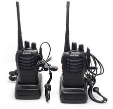 2pcs Baofeng Walkie Talkie UHF 400-470MHZ 2-Way Radio 16CH 5W BF-888S
