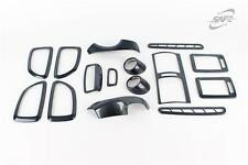 Per HYUNDAI TUCSON 2004 - 2010 CARBON LOOK Set Finiture Interni Stile