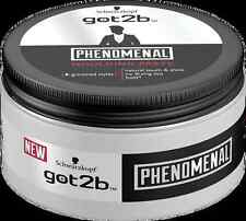 6 X Schwarzkopf Got2b PHENOMENAL Moulding PASTE 100ml