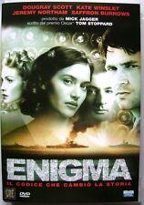 Dvd Enigma - Il codice che cambiò la storia 2002 Usato raro fuori cat.