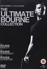 The Ultimate Bourne Collection: Identity/Supremacy&Ultimatum [DVD] [2007] Sealed
