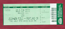 Orig.Ticket   CONCACAF Gold Cup USA 2013   USA - BELIZE  !!  SELTEN