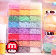 4500 perler beads 24 colors hama for designs plussize craft cute fun box set  !