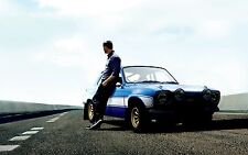 PAUL WALKER FAST AND FURIOUS POSTER PRINT ART PW04 - BUY 2 GET 1 FREE!!