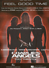 PINK sheet music Feel Good Time from CHARLIE'S ANGELS 2003 7 pages (NM shape)