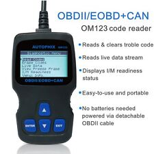 OM123 OBD MATE OBDII Car Vehicle Engine Code Reader Auto Diagnostic Scan Tool US