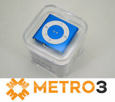 Apple iPod Shuffle 4th Gen 2GB BLUE in Retail Pack with Accessories