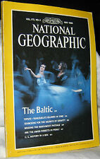 NATIONAL GEOGRAPHIC MAY 1989 BALTIC;TEPUIS;GRAVITY;NORTHWEST PASSAGE;SWISSFOREST
