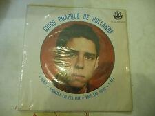 """CHICO BUARQUE DE HOLLANDA""""A BANDA- disco 45 giri EP(4 brani)RGE Brasil 1963 RARE"""