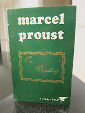 Marcel Proust On Reading - A Condor Book, Fletcher & Sons, Great Britain 1971.