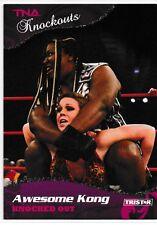 Awesome Kong 2009 TriStar TNA Knockouts Silver Card # 2 07/40 WWE Kharma