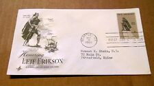 1968! Honoring Leif Erikson! Discoverer of North America! 6 Cent Stamp! VG Cond!