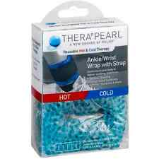 TheraPearl Reusable Hot - Cold Therapy Ankle/Wrist Wrap with Strap 1 ea