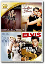 Gentlemen Prefer Blondes An Affair To Remember Seven Year Itch DVD New 1 more