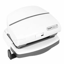 Rapesco P30 White A4 A5 A6 Paper 2 Hole Puncher Punch Office Desk Accessory