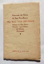 Souvenir du Sacre de Son Excellence Mgr René Van Heusden – Salésien de Don Bosc