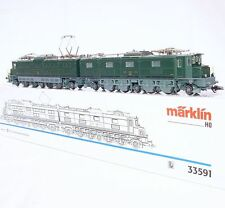 "Marklin AC HO 1:87 Swiss ""Monster"" SBB Ae 8/14 ELECTRIC LOCOMOTIVE 11801 NMIB`90"